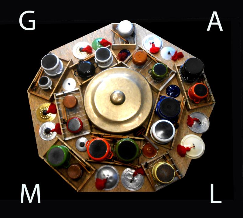 Concert GAML : Gamelan sur casseroles