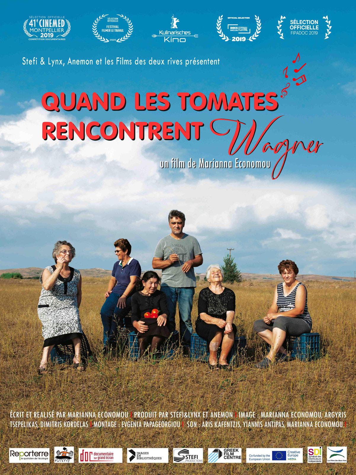 """Cuisine """"Tomatée""""suivie d'une projection """"Quand les tomates rencontrent Wagner"""""""